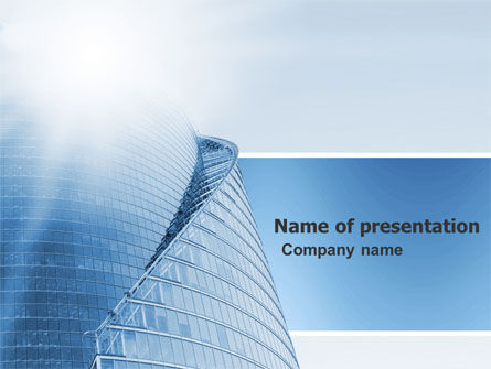 Office Center PowerPoint Template