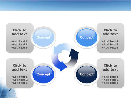 Office Center PowerPoint Template Slide 9