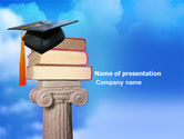 Education & Training: University Education PowerPoint Template #03680