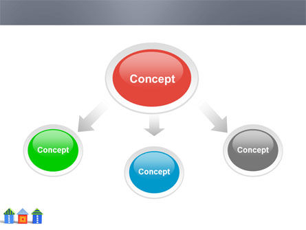 Houses PowerPoint Template, Slide 4, 03686, Construction — PoweredTemplate.com