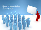 Education & Training: Public Meeting PowerPoint Template #03687