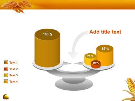 Harvest of Autumn PowerPoint Template Slide 10