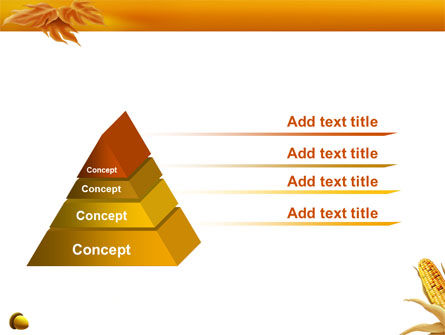 Harvest of Autumn PowerPoint Template Slide 12