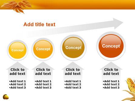 Harvest of Autumn PowerPoint Template Slide 13