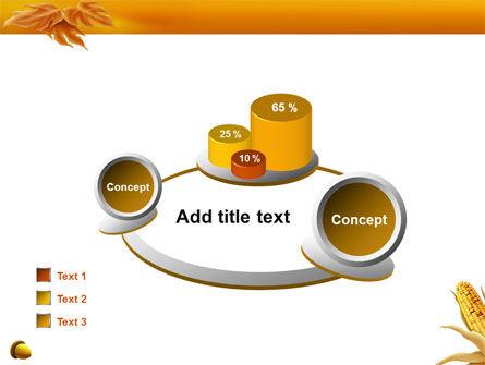 Harvest of Autumn PowerPoint Template Slide 16