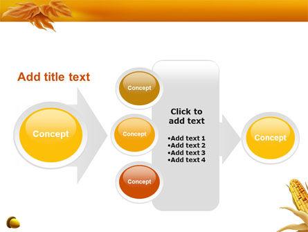 Harvest of Autumn PowerPoint Template Slide 17