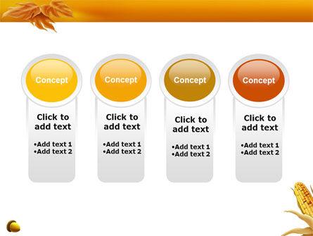 Harvest of Autumn PowerPoint Template Slide 5