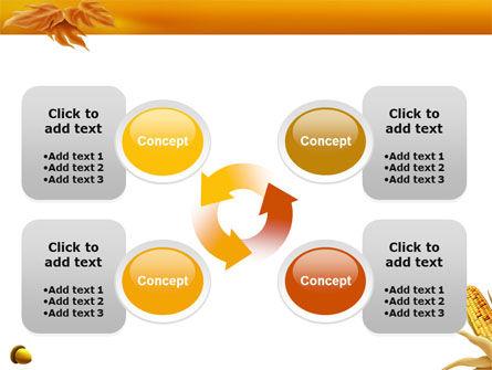 Harvest of Autumn PowerPoint Template Slide 9