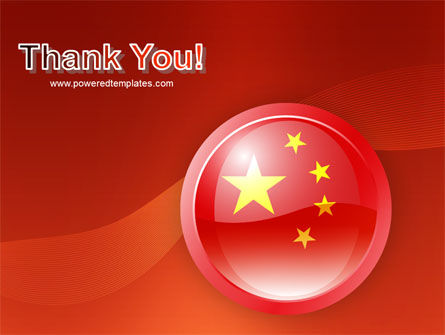Flag of China PowerPoint Template Slide 20