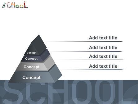 School Word PowerPoint Template Slide 12