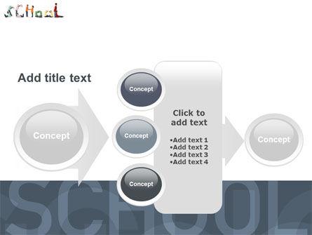 School Word PowerPoint Template Slide 17