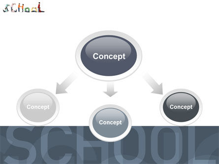 School Word PowerPoint Template, Slide 4, 03693, Education & Training — PoweredTemplate.com