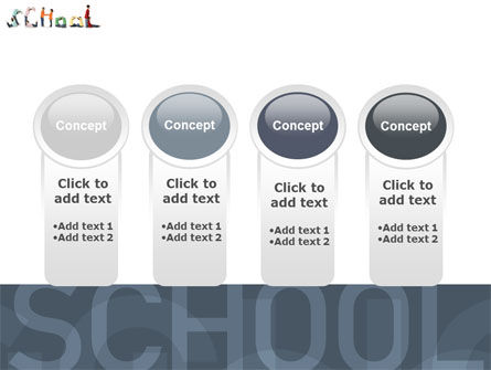 School Word PowerPoint Template Slide 5