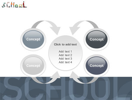 School Word PowerPoint Template Slide 6