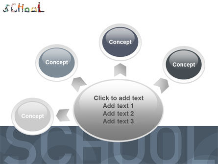 School Word PowerPoint Template Slide 7