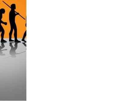 Human Evolution PowerPoint Template, Slide 3, 03694, Education & Training — PoweredTemplate.com