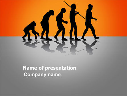 Human Evolution PowerPoint Template