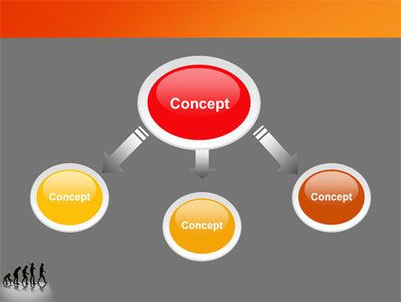 Human Evolution PowerPoint Template, Slide 4, 03694, Education & Training — PoweredTemplate.com