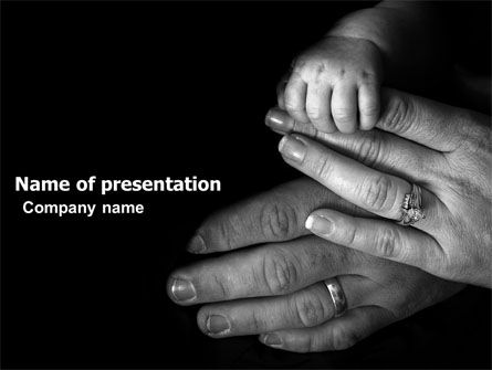 Family Bonds PowerPoint Template, 03701, Religious/Spiritual — PoweredTemplate.com