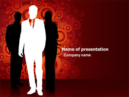 Business: Stylish Look PowerPoint Template #03704