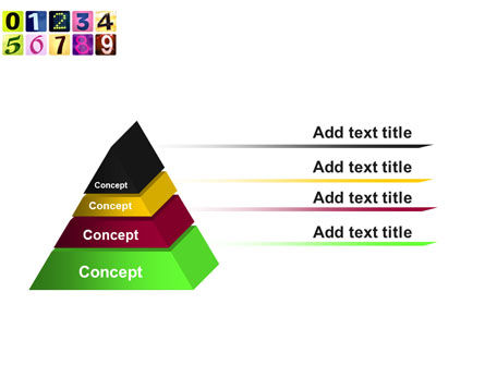 Colored Numbers PowerPoint Template Slide 12