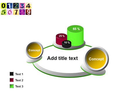 Colored Numbers PowerPoint Template Slide 16