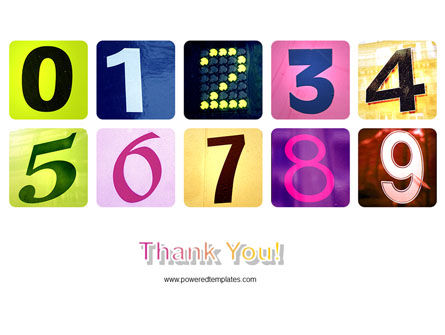 Colored Numbers PowerPoint Template Slide 20