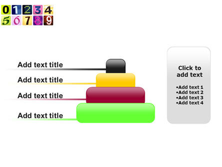 Colored Numbers PowerPoint Template Slide 8