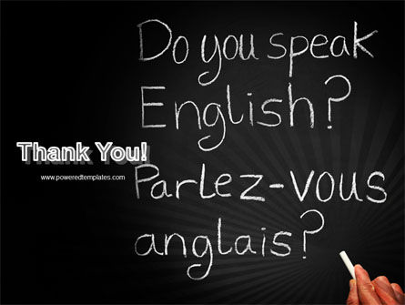 English Courses PowerPoint Template Slide 20