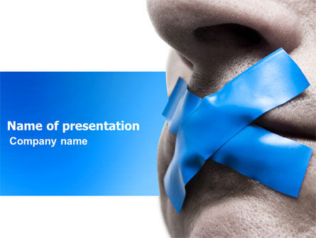 Silence PowerPoint Template