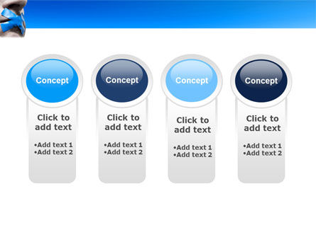 Silence PowerPoint Template Slide 5