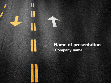 Trend PowerPoint Template, 03712, Cars and Transportation — PoweredTemplate.com