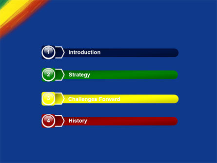 Various Colors Of Paint PowerPoint Template Slide 3