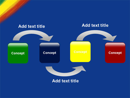 Various Colors Of Paint PowerPoint Template Slide 4