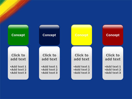 Various Colors Of Paint PowerPoint Template Slide 5