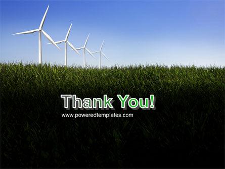 Wind Mills PowerPoint Template Slide 20
