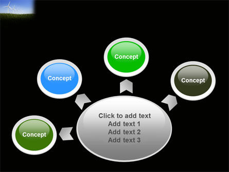 Wind Mills PowerPoint Template Slide 7