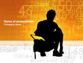 Education & Training: Plantilla de PowerPoint - matemáticas estudiantiles #03717