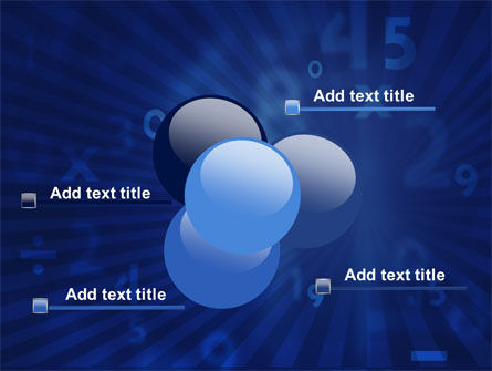 Blue Numbers PowerPoint Template Slide 10