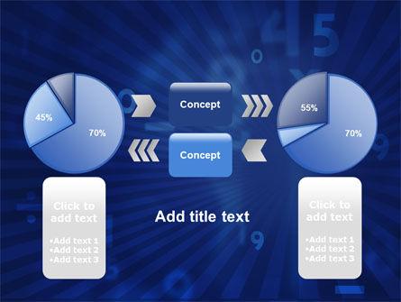 Blue Numbers PowerPoint Template Slide 11