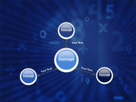 Blue Numbers PowerPoint Template Slide 14