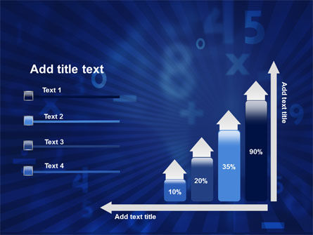 Blue Numbers PowerPoint Template Slide 8
