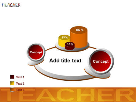 Teacher of Class PowerPoint Template Slide 16