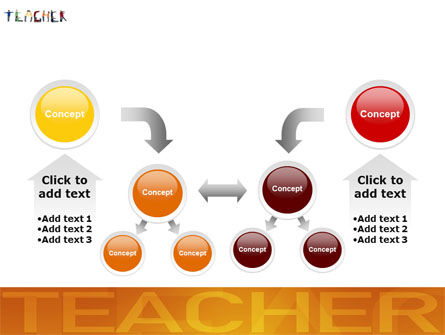 Teacher of Class PowerPoint Template Slide 19