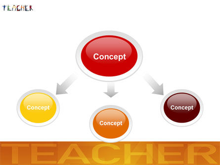 Teacher of Class PowerPoint Template, Slide 4, 03723, Education & Training — PoweredTemplate.com
