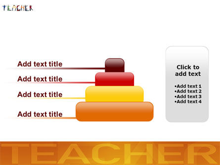 Teacher of Class PowerPoint Template Slide 8