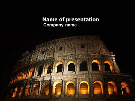 Coliseum PowerPoint Template
