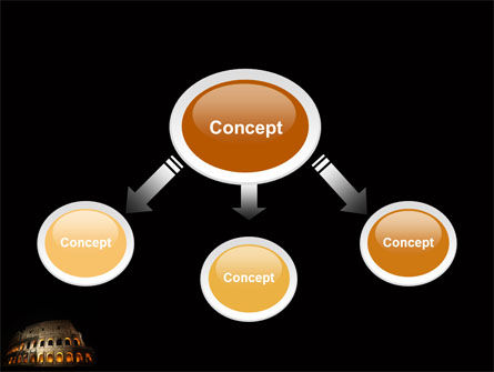 Coliseum PowerPoint Template, Slide 4, 03724, Construction — PoweredTemplate.com