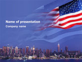 America: Patriot Day PowerPoint Template #03725