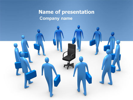 Leader Seat PowerPoint Template, 03726, Business — PoweredTemplate.com